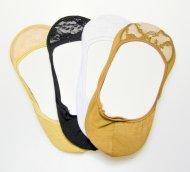 Bambusové krajkové ťapky AMZF D-236 - 3 páry, velikost 39-42