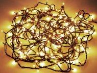 LED světýlka do exteriéru a interiéru (13.5m) 180 diod - Teplá bílá
