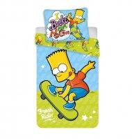 Povlečení Bart Simpson skate 03 140/200, 70/90