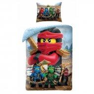 HALANTEX Povlečení Lego Ninjago group Bavlna, 140/200, 70/90 cm