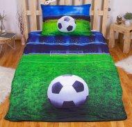 3D povlečení BedStyle 140x200 + 70x90 - Fotbalový sen