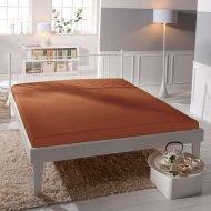 Jersey prostěradlo Premium Bed - Cihlové