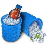 Silikonová nádoba na výrobu ledu - ICE CUBE MAKER