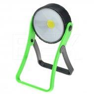 Pracovní COB LED světlo - 3W - Zelené