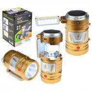 Malá multifunkční kempingová LED COB lampa - TJ-289 - Zlatá