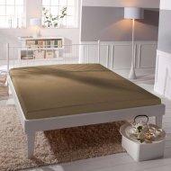 Jersey prostěradlo Premium Bed - Světle hnědé
