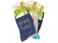 Dětské klasické bambusové ponožky Virgina TD-1030 - 4 páry, velikost 35-38