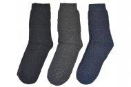Teplé pracovní ponožky PESAIL - 3 ks, mix barev, velikost 39-42