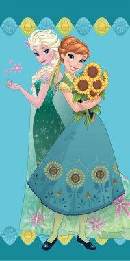 Osuška Ledové Království Flower 70/140