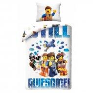 HALANTEX Povlečení Lego Awesome Bavlna, 140/200, 70/90 cm