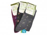 Dámské klasické bambusové ponožky Pesail SN115 - 3 páry, velikost 35-38
