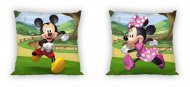 Povlak na polštářek Mickey a Minnie zahrada 40/40