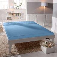 Jersey prostěradlo Premium Bed lycra DeLuxe - Světle modré