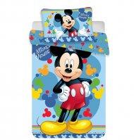 JERRY FABRICS Povlečení do postýlky Mickey 02 baby Bavlna, 100/135, 40/60 cm