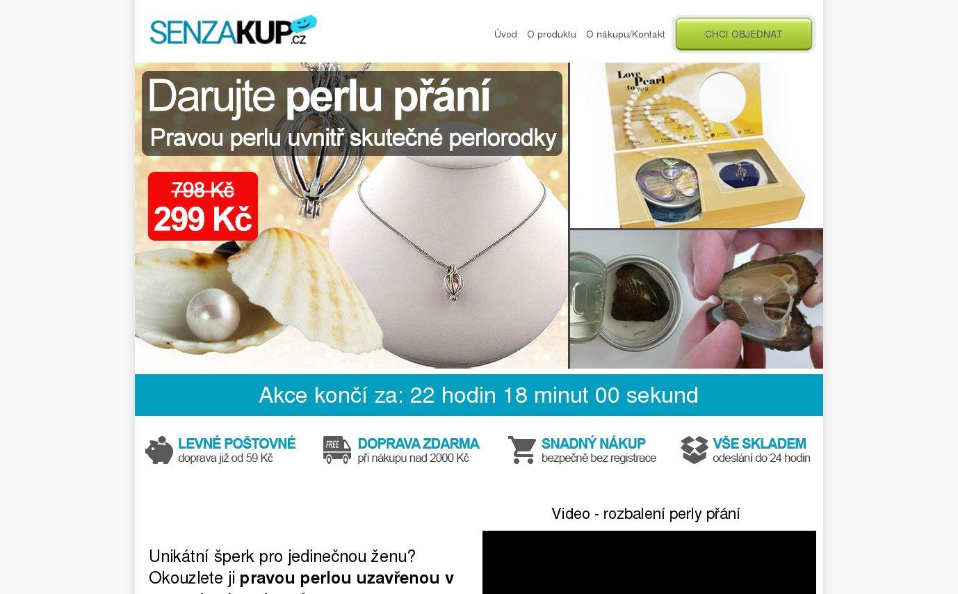 Perla přání | SenzaKup.cz